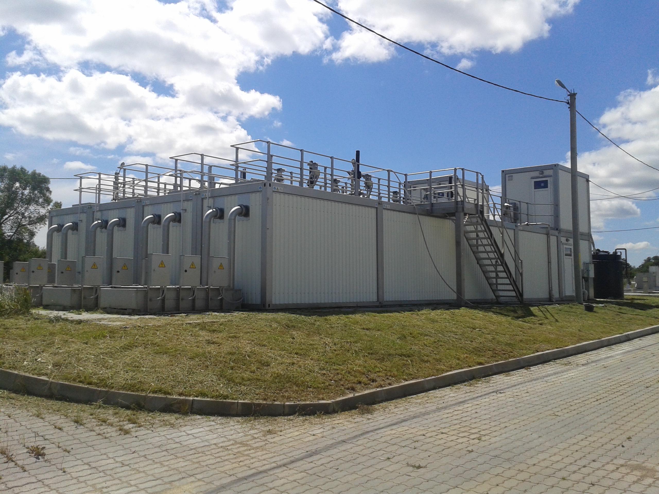 Станция глубокой биологической очистки производства Техносфера