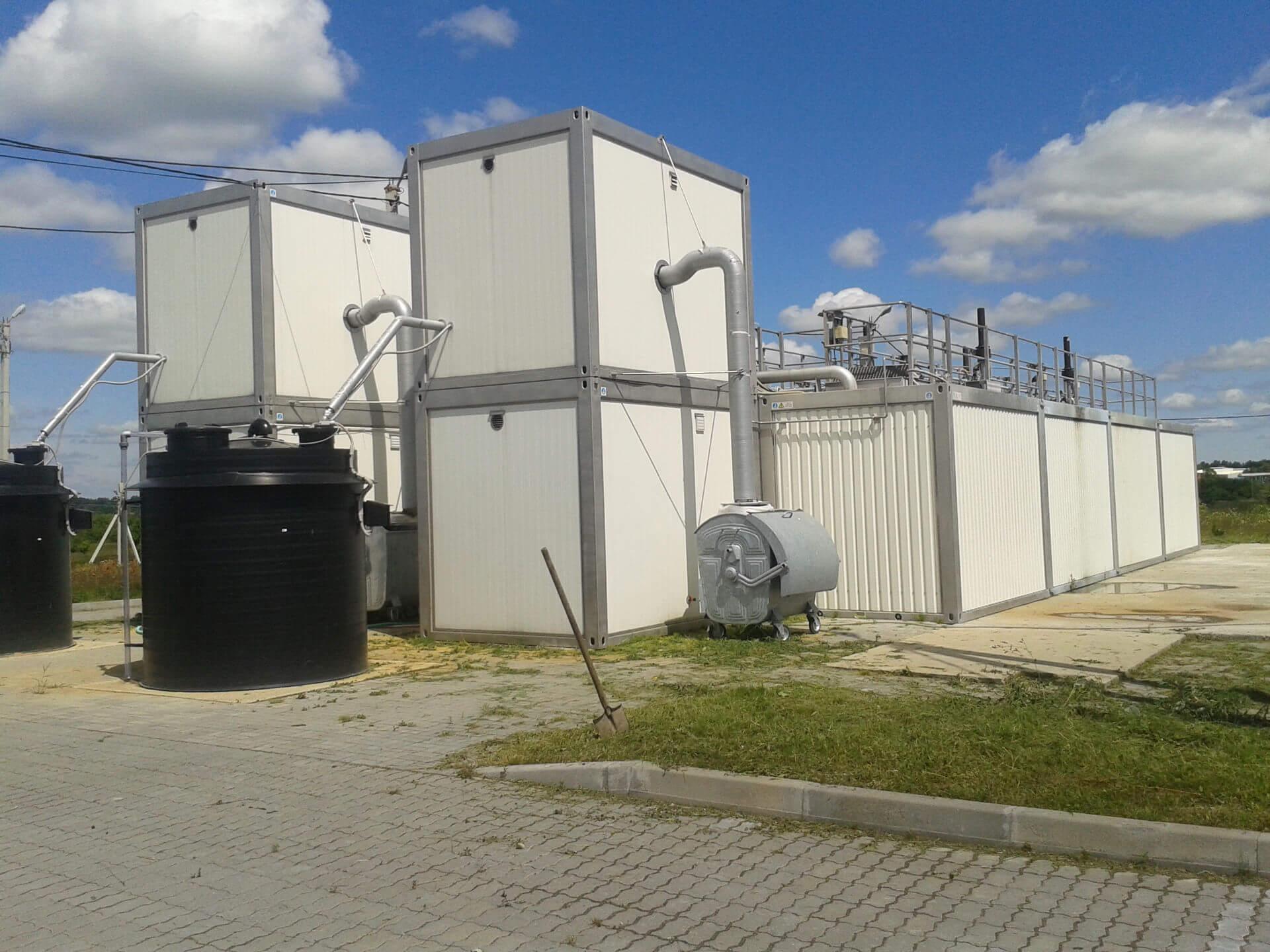 Станция глубокой биологической очистки изготовленная Компанией Техносфера Центр
